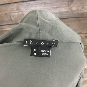 Theory Tops - Theory Silk Demona Blouse